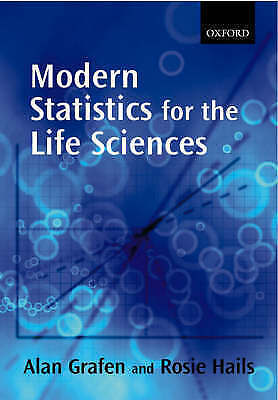 1 of 1 - Modern Statistics for the Life Sciences by Alan Grafen (English) Paperback Book