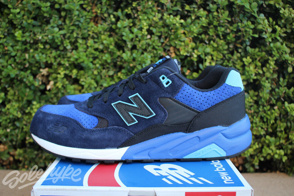 NEW BALANCE 580 SZ 8 SOUND AND STAGE ELITE EDITION NAVY BLUE BLACK MRT580ST