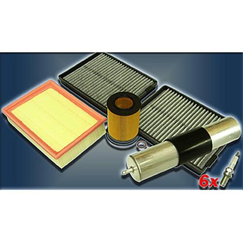 98 Inspektionskit Filter Satz Paket L BMW 5er E39 520i 523i 528i   M52  ab Bj