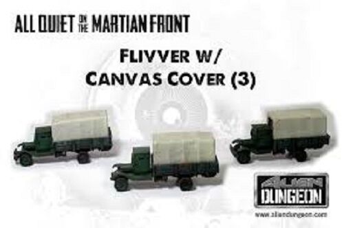 US026-FLIVVERS WITH CANVAS COVER - ALL QUIET ON THE MARTIAN FRONT-ALIEN DUNGEON