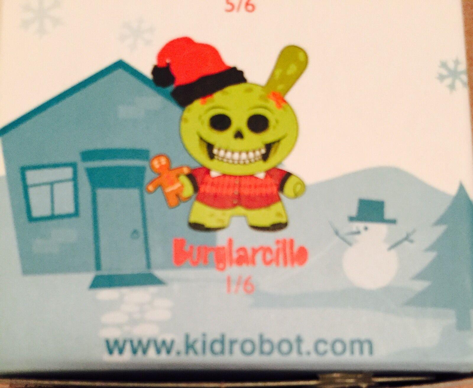 Sealed Kidrobot Christmas Exclusive Burglarcille Chase Chase Chase Saner Burglars Dunny 04517c