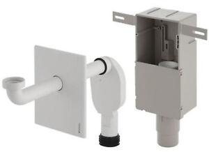 geberit waschtisch unterputz siphon waschbecken sifon geruchverschluss 151120111 ebay. Black Bedroom Furniture Sets. Home Design Ideas