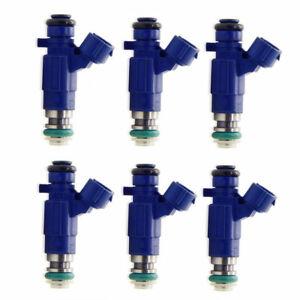 6-x-BOSCH-FUEL-INJECTORS-FIT-FOR-2001-2007-NISSAN-PATROL-GU-TB48DE-4-8L