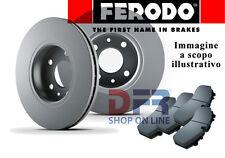 KITFDP43 KIT DISCHI FRENO + PASTIGLIE FERODO FIAT SEDICI 1,9D MULTIJET 88KW 120C