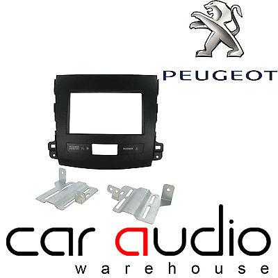 CT23PE06 Peugeot 4007 2007 On Car Stereo Double Din Fascia Facia Panel Kit
