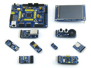Details about STM32F107VCT6 STM32F107 ARM Cortex-M3 STM32 Development Board  + 8 Modules Kit