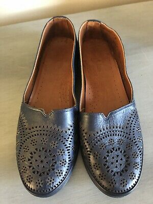 Spring Step Womens Fusaro Loafers Slip On Soft Leather Comfort Flats Shoes NEW