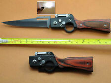 Fashion AK-47 Knife Tactical Folding Pocket Sharp Saber Camping with LED Light