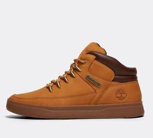 0984648263964 Mens Timberland Davis Square Mid Hiker Wheat Nubuck Boots RRP £99.99 ...