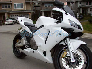Injection Glossy White Abs Plastic Fairing Fit For Honda 2003 2004