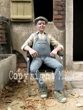 1/35 Scale Fernand seated in his armchair Armchair supplied with the figure