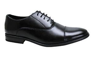 WILLY ADAMS Zapatos Elegantes Hombre Negro Cuero AE924 (43 EU) NkpLayH