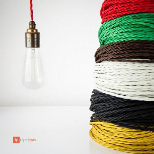 Textilkabel verseilt Gold 3x0.75 mm² aus europäischer Produktion