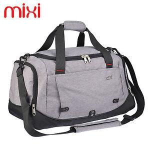 "Mixi 20"" Mens Travel Satchel Bags Gym Shoulder Bag Sports Training ..."