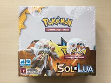 Pokemon TCG Booster Box  SM01 Sonne und Mond SOL E LUA Display OVP portuguese!