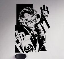 Joker Wall Decal Batman Vinyl Sticker DC Comics Removable Home Art Decor 8(nse)
