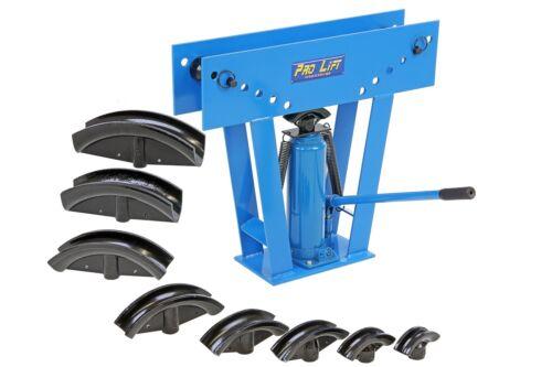 Rohrbiegemaschine 15t Rohrbieger 15000kg Biegemaschine Bieger Stahlrohr blau