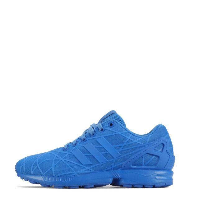 Adidas Originals ZX Flux 3d Herren Triple blau Sneaker Schuhe