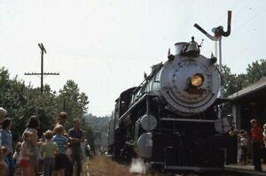 Southern-Railroad-Steam-Locomotive-Original-1972-Photo-Slide