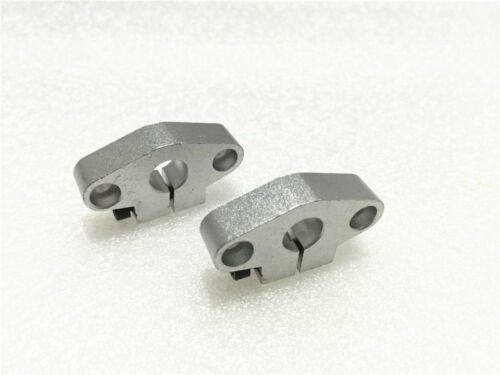 2pcs SHF10 10mm Aluminum Linear Bearing Rod Rail Shaft Support CNC Route Parts