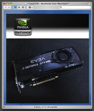 Early 2008-2013 Apple Mac Pro nVidia GeForce GTX285 1GB Video Graphics Card NEW