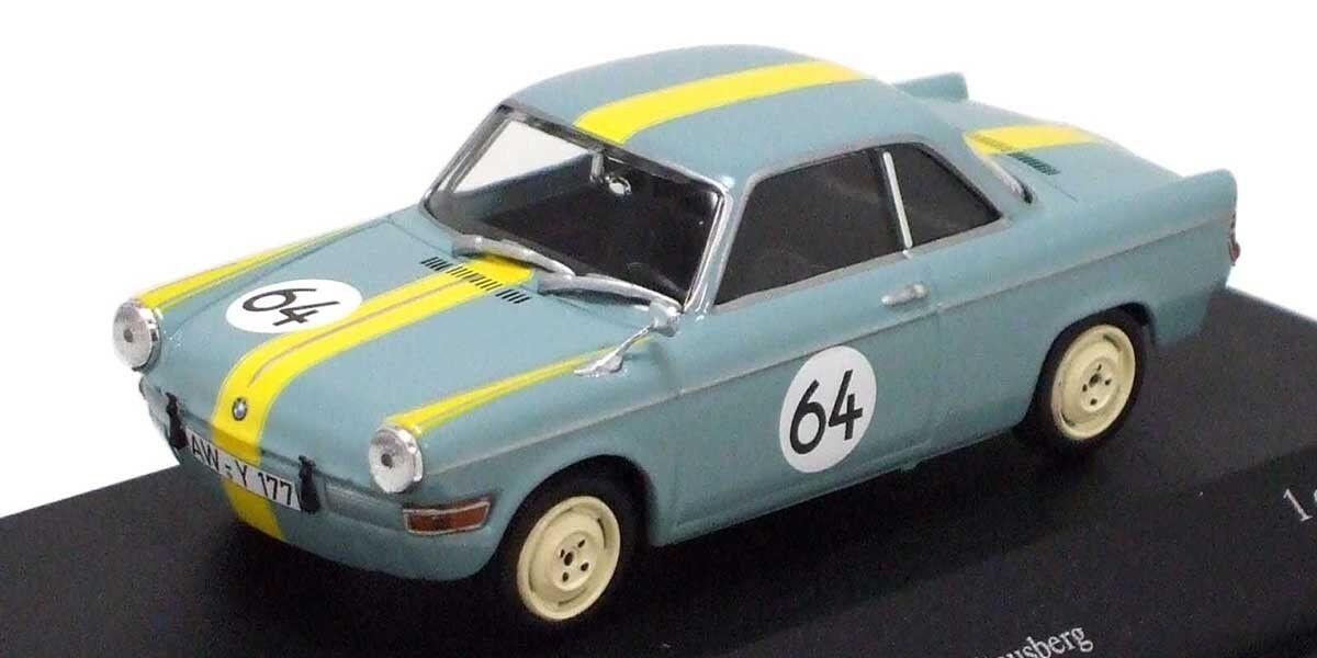 bajo precio Minichamps 1 43 BMW BMW BMW 700 Sport-Martini BMW 12H Tourenwagen Nuerburgring 1961  bajo precio del 40%