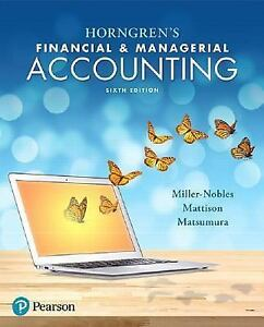 Financial & Managerial Accounting 16th Edition Pdf