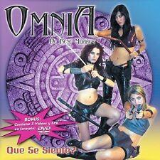 FREE US SHIP. on ANY 2 CDs! ~LikeNew CD Omnia: Que Se Siente