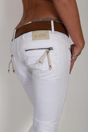 25 star 26 Wmm Pour Skinny W 31 Pantalon Jeans Fender Femmes Blanc Neuf 30 G L OSq5O7