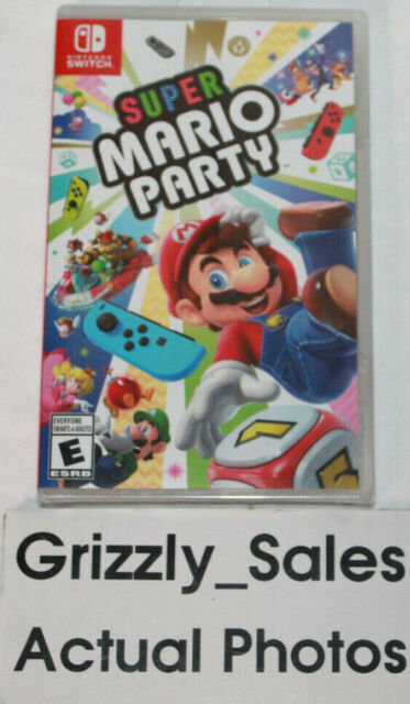 NEW Super Mario Party Nintendo Switch -Canadian Seller-