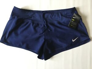 Details about Womens NIKE RUNNING DRY Shorts Dri Fit Size XL 719558 429