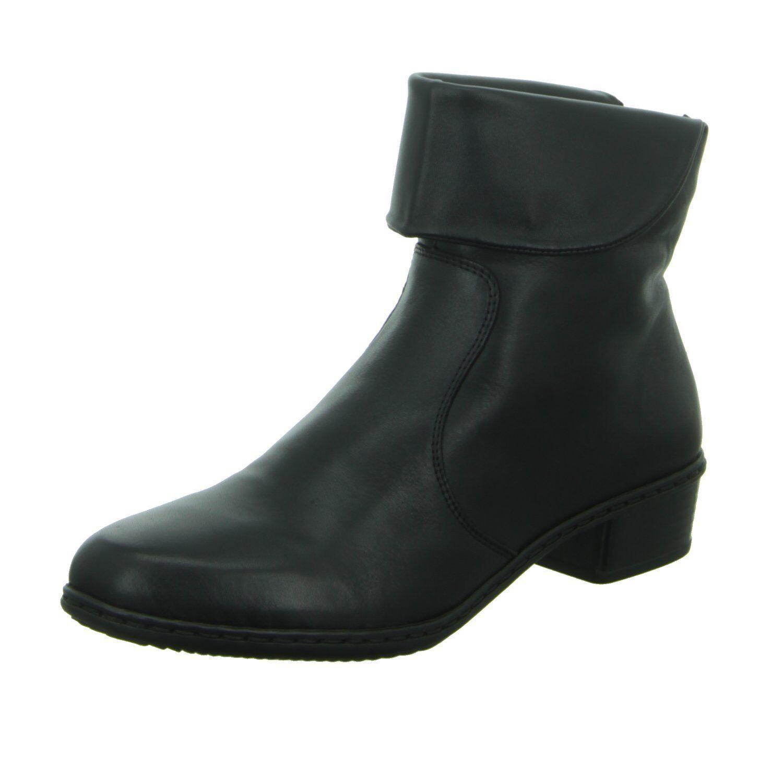 Rieker Womens UK UK UK 4 Black Leather Lambswool Sheepskin Lined Winter Ankle Boots 066063