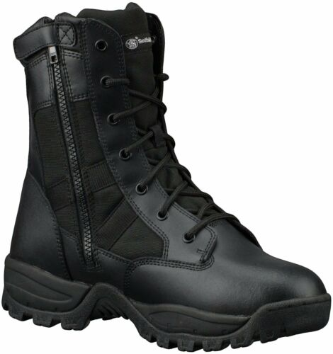Smith /& Wesson Breach 2.0 Men/'s Tactical Waterproof Side-Zip Boots Lightly Used