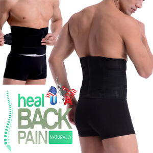 Double-Pull-Lumbar-Support-Lower-Waist-Back-Belt-Brace-Compression-Pain-Relief