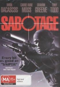 SABOTAGE-DVD-NEW-amp-SEALED-CARRIE-ANNE-MOSS-MARK-DACASCOS