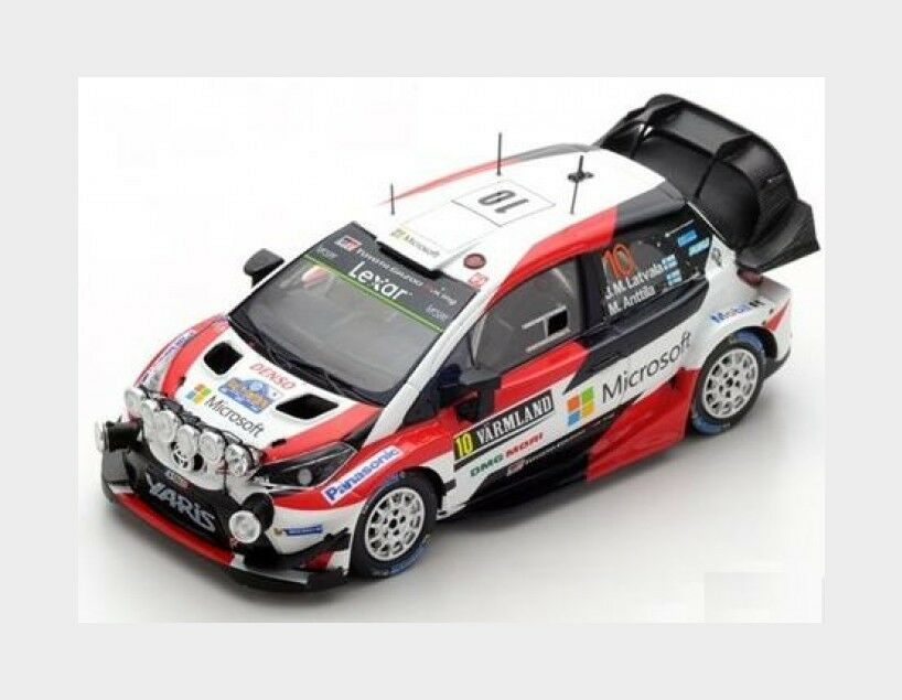 Toyota Yaris Wrc Winner Rally Sweden 2017 J.M.Latvala SPARK 1 43 S5165