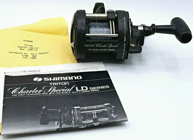 Charter Special TR 2000 LD Main Gear USED SHIMANO REEL PART