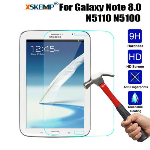 Full HD Tempered Glass LCD Screen Protector Film CoverFor Samsung Galaxy Tablets