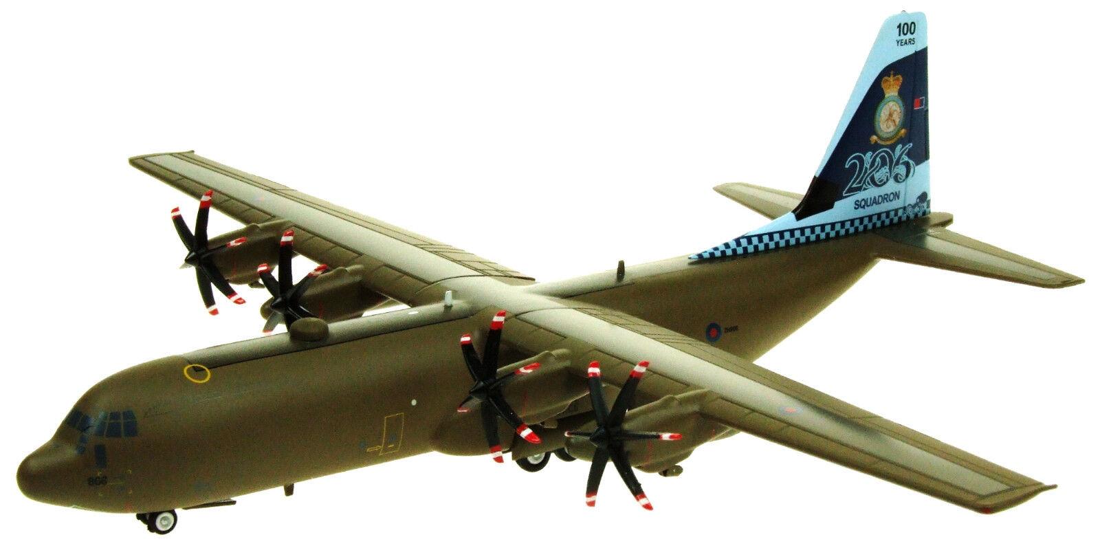 Ifclev 130866 1 200 C-130 Hercules RAF ZH866 Esron 206 100 ans Ltd Edn avec STD
