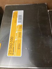 "MIRKA  23-342-080 GOLD 6/"" 80G PSA LINKROL DISC"