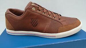 K-Swiss-match-court-Men-sneaker-chaussures-hommes-automne-marron-Belmont-nouveau