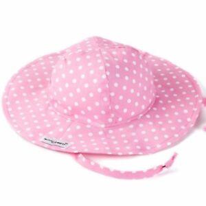 9dfc0091939 Image is loading Flap-Happy-Girls-Floppy-Hat-Pink-Dot-Kids-
