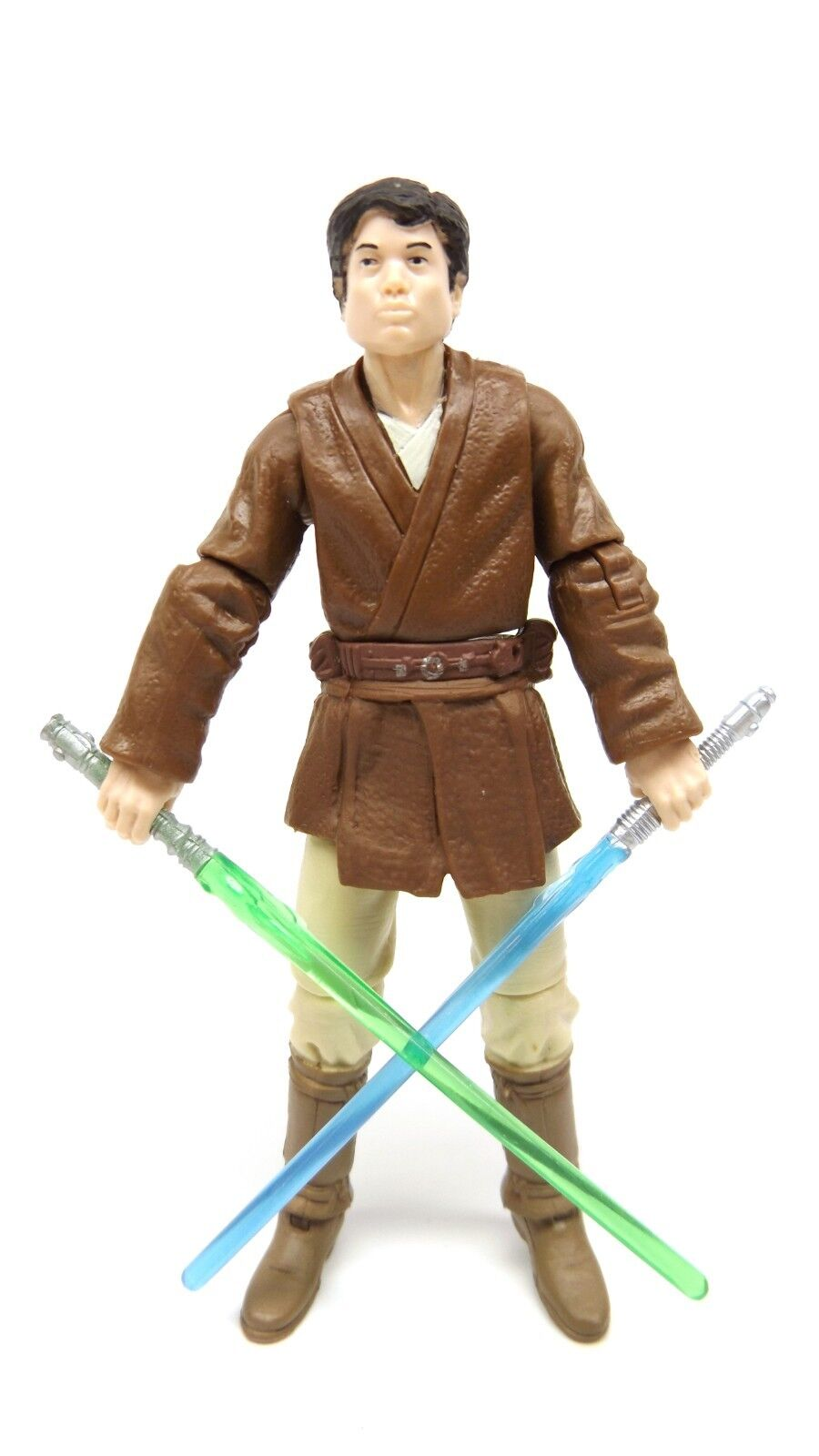 Star Wars TRU Battle of Geonosis Jedi Knight Selig Kenjenn Loose Complete