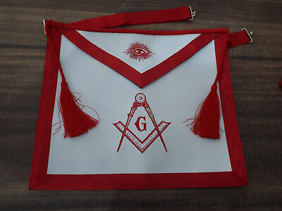 Blue Lodge Master Mason Masonic Square /& Compass Embroidered APRON DMA-3500
