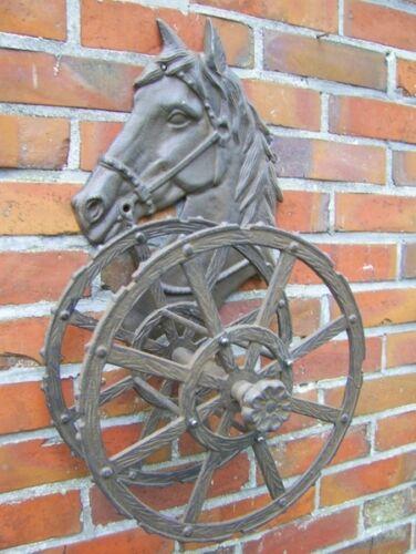 Ruolo TUBO cavallo SUPPORTO TUBO GHISA Nostalgia Stile Country Nuovo Cavalli