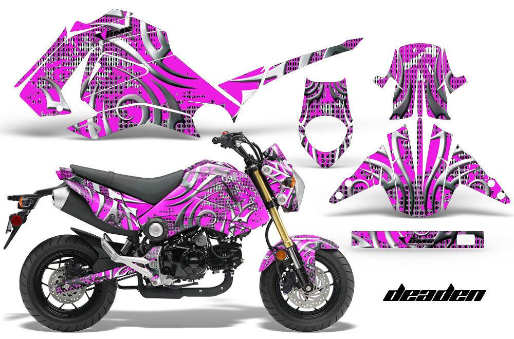 Motorrad Grafik Kit Sticker für Honda Grom 125 13-16 Deaden Deaden Deaden Rosa e86edb