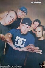 """LIMP BIZKIT """"BAND POSING WITH HANDS OUT"""" POSTER FROM ASIA - Nu & Rap Metal Music"""