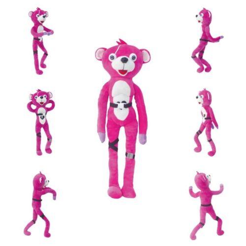 Stuffed Toys Pink Bear Dancing Plush Pink Bear Animal Game Figure Doll Kids Gift