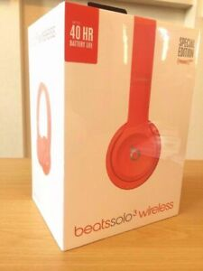 Beats-by-Dr-Dre-Solo3-RED-Wireless-Headphones