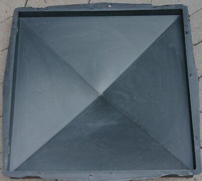 glatt Zielstrebig Pfeilerabdeckung 49 X 49 Cm Schalungsform 371 Pfosten Gießform